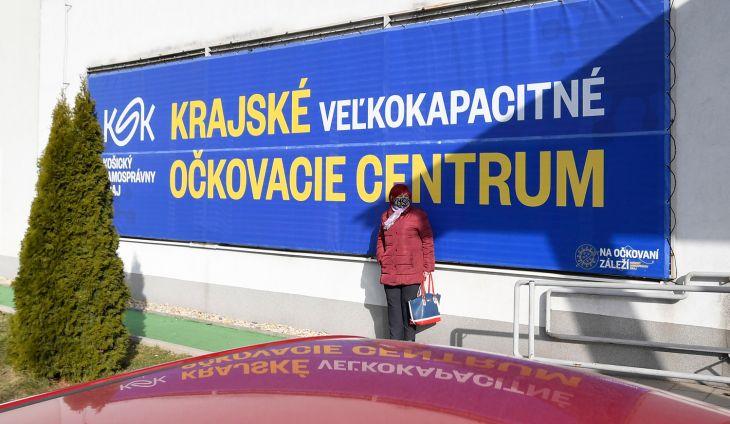 Veľkokapacitné očkovacie centrum v Košiciach hlási rekord