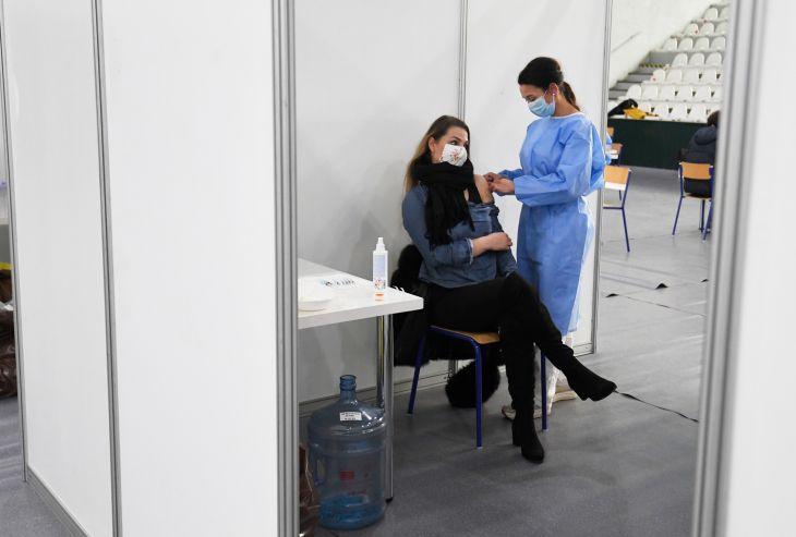 Očkovanie vo veľkokapacitných centrách v Prešovskom kraji