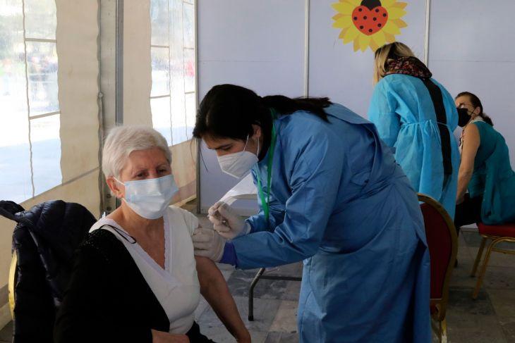 Otvorenie veľkokapacitného očkovacieho centra v Prievidzi