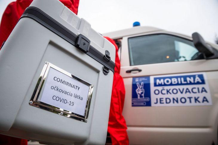 Košický kraj spustil mobilnú očkovaciu službu