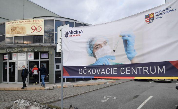 V Prešovskom kraji už zaočkovali takmer 55.000 ľudí