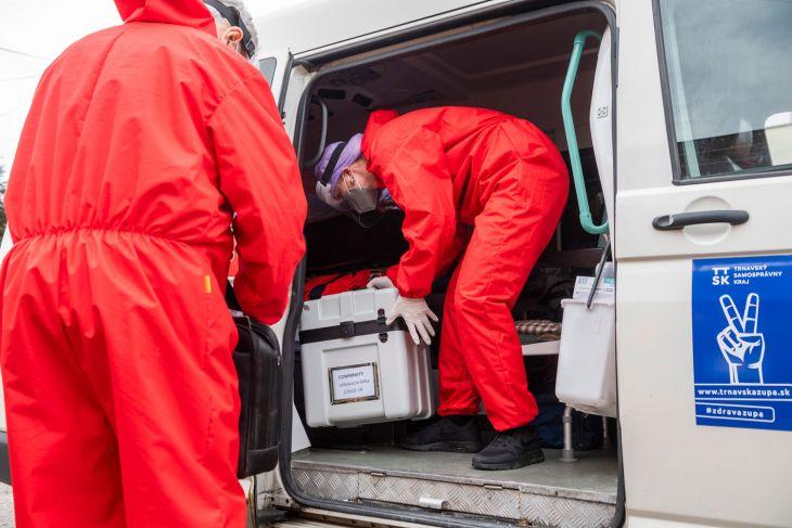 Prešovský kraj spúšťa výjazdovú očkovaciu službu
